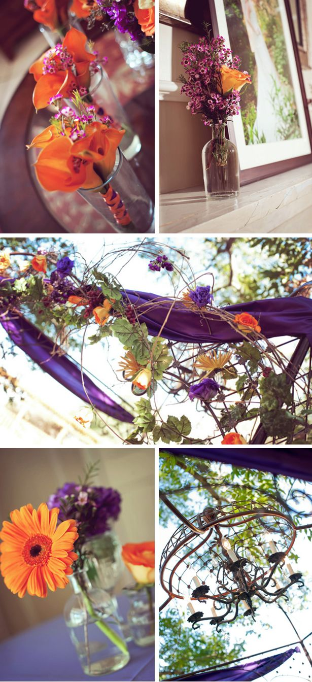 again with the purple and fall theme... i love the purple drapes! how whimsical/magical. =]