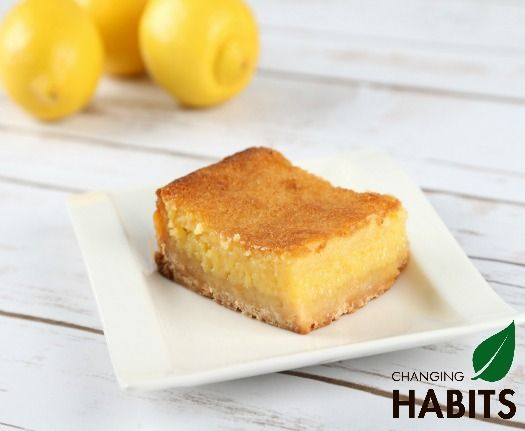 Lemon and Coconut Slice Mmmm yum :)