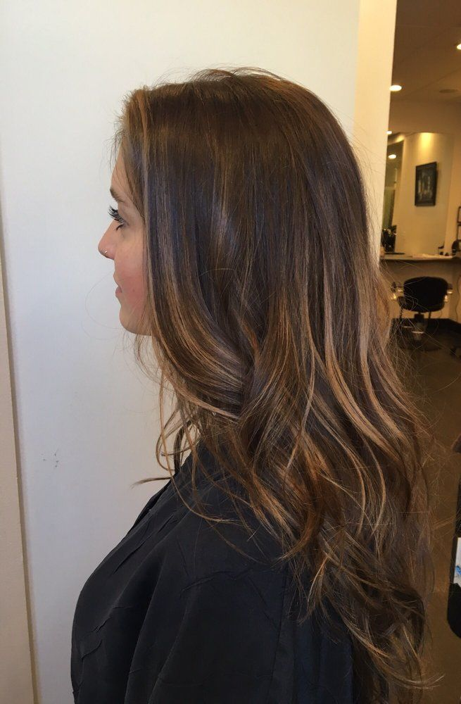 Salon Patine - Santa Barbara, CA, United States. Dimensional brunette