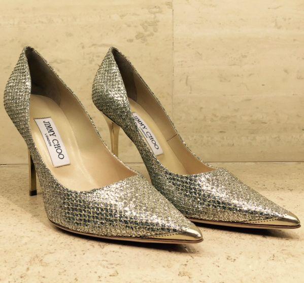 Decollete by @jimmychooltd #JimmyChoo #ChooLover #shoes #heels #glitter #FolliFollie