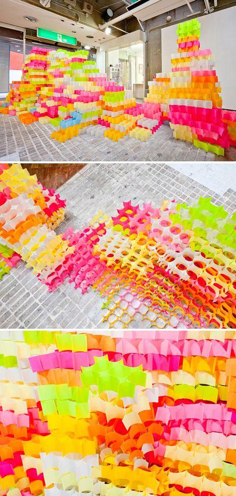 Post-It structure by Yo Shimada of Tato Architects