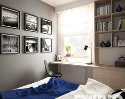 granatowa-sypialnia - zdjęcie od MIKOŁAJSKAstudio