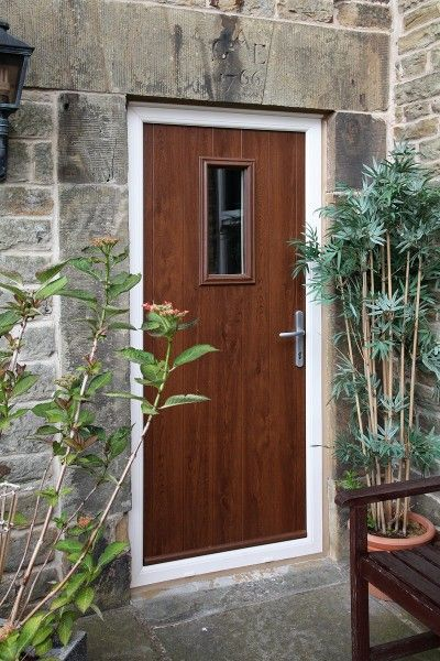 Flint 2 Mocha Composite Door With Cream Frame Cottage Home Love Pinterest Mocha Cream