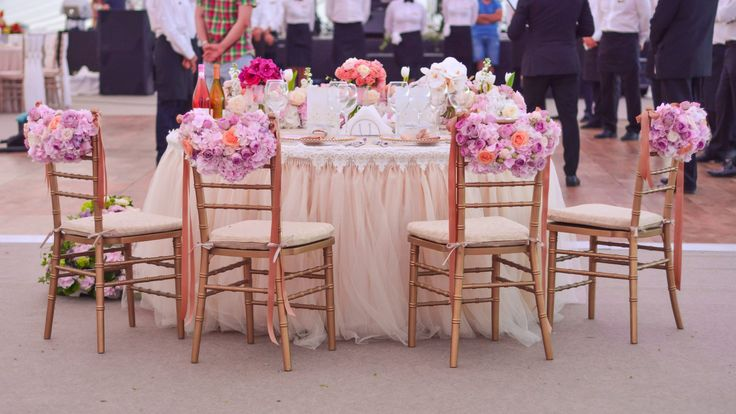 decor scaun Chiavari Aranjament floral wedding decoration Wedding idea