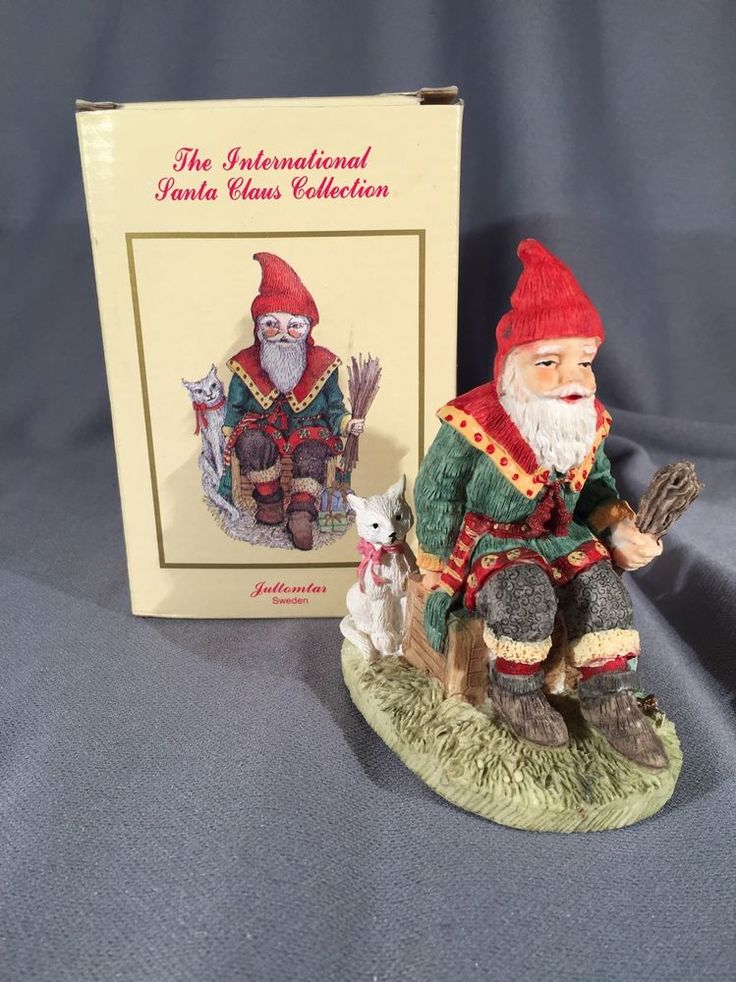 International Santa Claus Collection- Jultomtar Sweden Vintage | Collectibles, Holiday & Seasonal, Christmas: Current (1991-Now) | eBay!