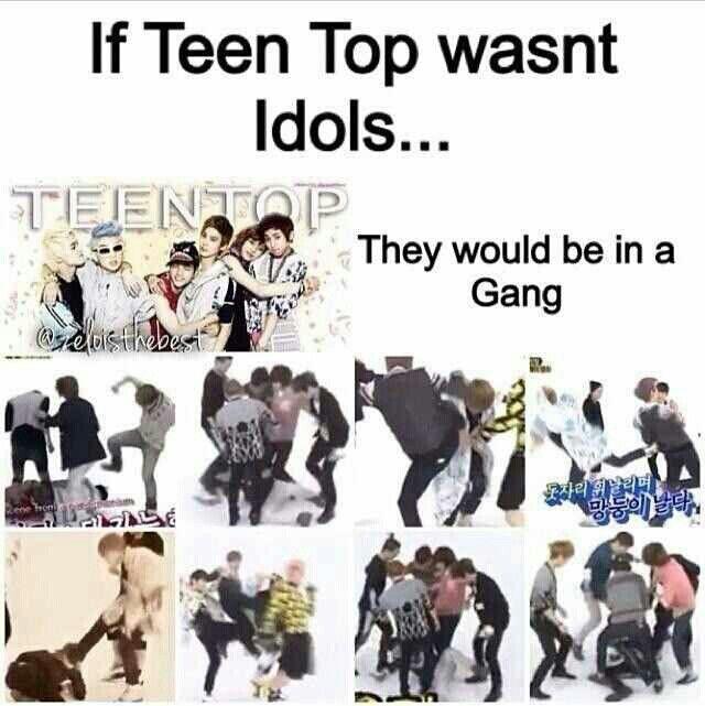 Teen Top on Weekly Idol Random Play Dance made my life! #TeenTop #kpop