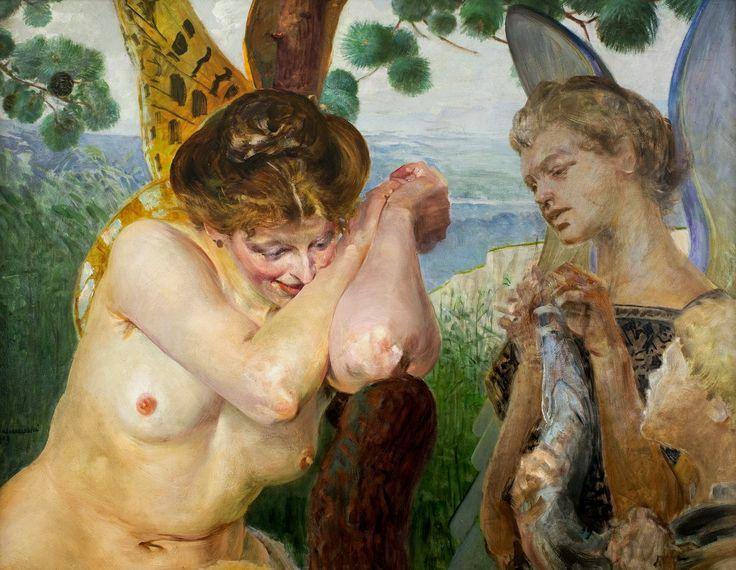 Tobias and harpy by Jacek Malczewski, 1909 (PD-art/70), Muzeum Narodowe w Krakowie (MNK)