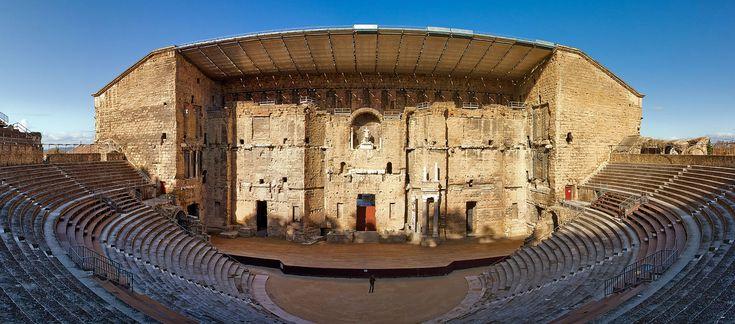 Theatre Antique d'Orange, Southern France