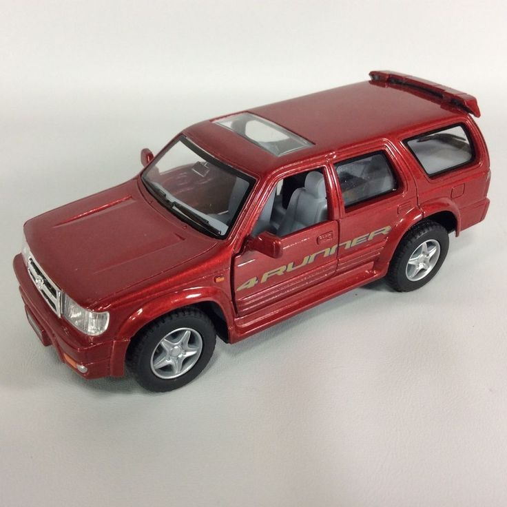 Pick And Pull Tacoma >> Toyota 4Runner Limited Diecast 1:36 Scale Kinsmart Red #Kinsmart #TOYOTA | Toyota 4runner ...