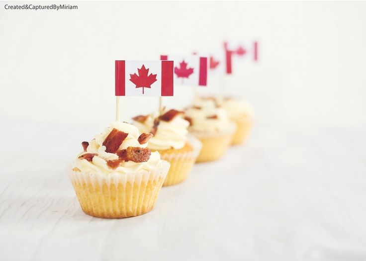 Bacon and Maple Syrup Cupcakes