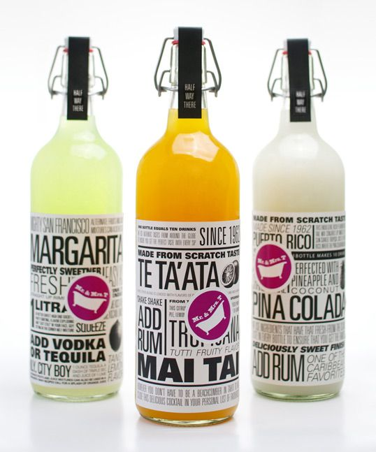 mrt: Bottle Labels, Nice Packaging, Packaging Design, Bottle Packaging, Packaging Inspiration, Drinks Packaging, Tai Packaging, Packaging Beverages, Drinks Mixed