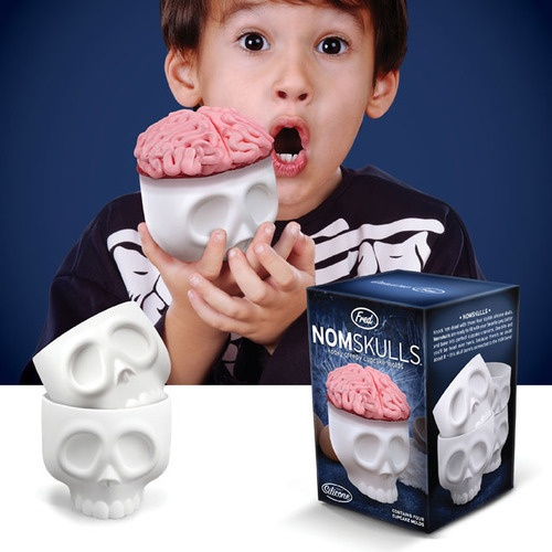 Creepy Nomskulls Cupcake Mold