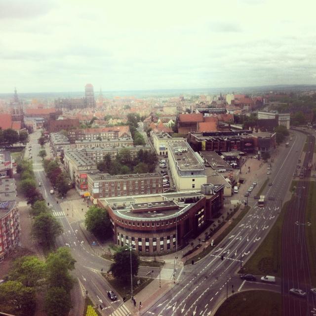 Gdansk, widok z Zieleniaka