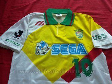 JEF United Ichihara Chiba Fora camisa de futebol 1992 - 1993