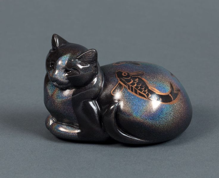 129 best images about cat figurines collectibles by for Koi fish figurines