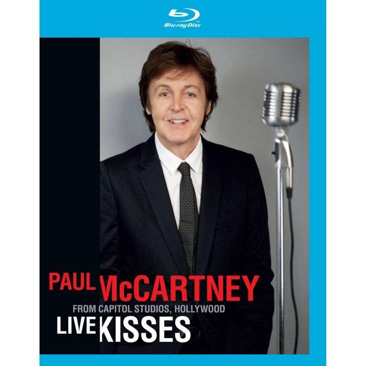 Paul McCartney - Live Kisses (Blu-ray) #PaulMcCartney #LiveKisses #bluray #bluraydvd #music
