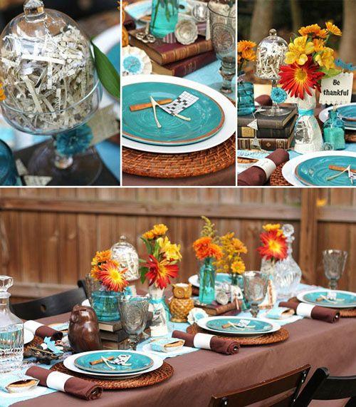 Pepper Design Blog » Blog Archive » Holiday Entertaining: Thanksgiving Inspiration