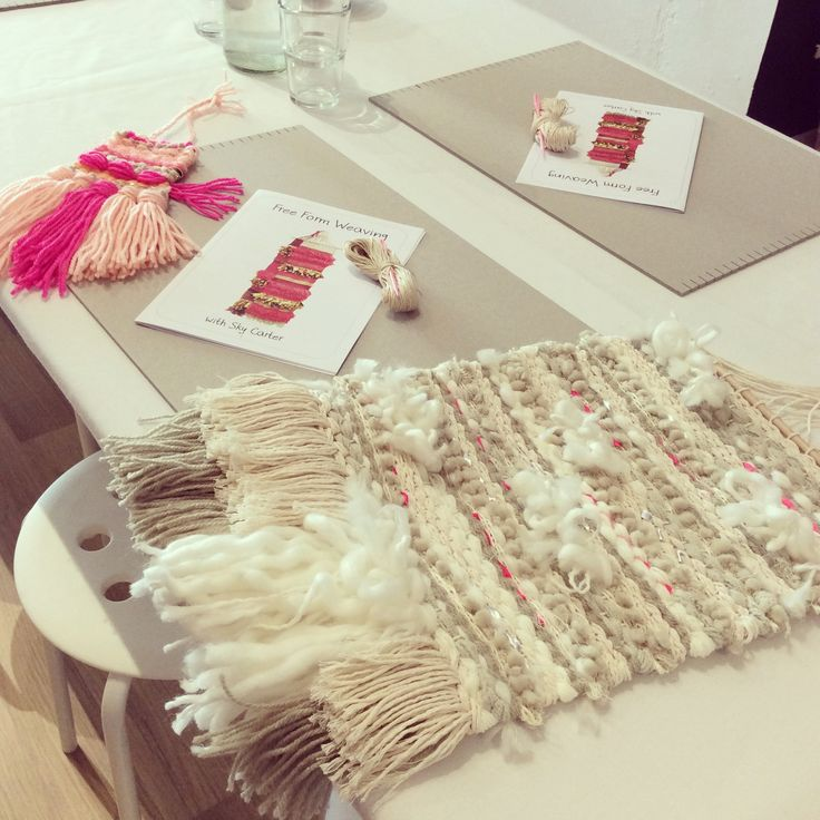 Studio Weaving Workshop 15/8 STILL 1 SPOT
