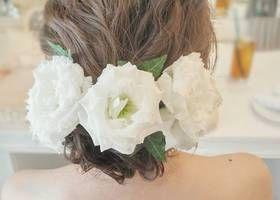 アップスタイルからダウンスタイルまで♡花嫁を美しくするブライダルヘアの種類ざっくりまとめ*