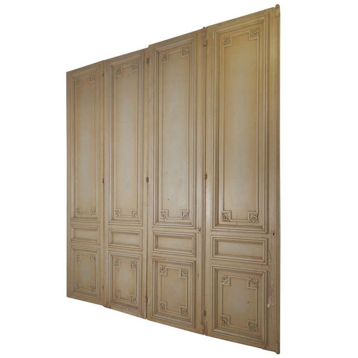 Set Of Impressive French Parlour Doors | From a unique collection of antique and modern architectural elements at http://www.1stdibs.com/furniture/building-garden/architectural-elements/
