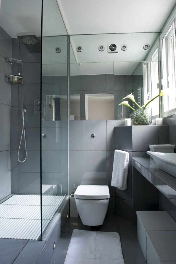 17 best images about teeny weeny en suites on pinterest for Modern small ensuite