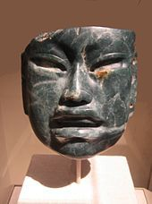 Pre-Columbian trans-oceanic contact theories - Wikipedia A jade Olmec mask. Gordon Ekholm, who was an eminent archaeologist and curator at the American Museum of Natural History, suggested that the Olmec art style might have originated in Bronze Age China
