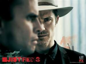 Justified--if you aren't watching this show, start at season 1. You can thank me later!