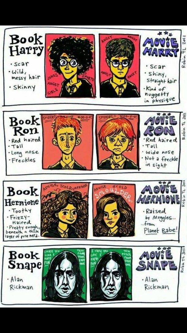 всегда, книга, фильм, смешно, Гриффиндор, Гарри Поттер, Гермиона Грейнджер…