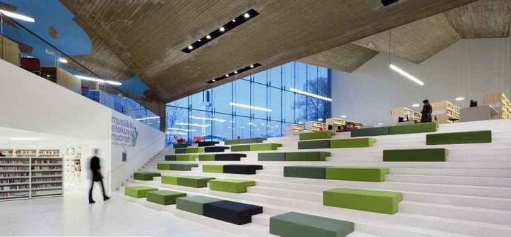 이런 거였는데 말이지... 그들이 원한건. 쩝. City Library in Seinäjoki / JKMM Architects