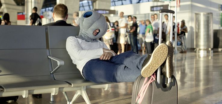 Ostrich Pillow. OSTRICH PILLOW offers a micro environment in which to take a warm and comfortable power nap at ease. It is neither a pillow, nor cushion, bed or garment, but a bit of each all at the same time. It's soothing cave-like interior shelters and isolates both your head and hands, perfect for a power nap. You can use the Ostrich Pillow at your desk, on a bench, on the train or while you wait at the air ...