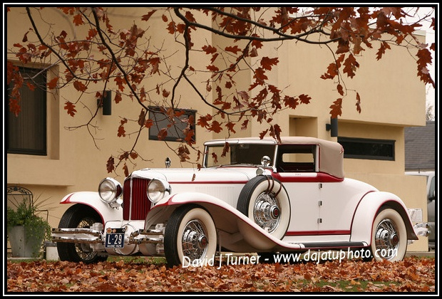 1929 L-29 Cord in Auburn, IN - car can be seen at the Auburn Cord Duesenberg Automobile Museum.