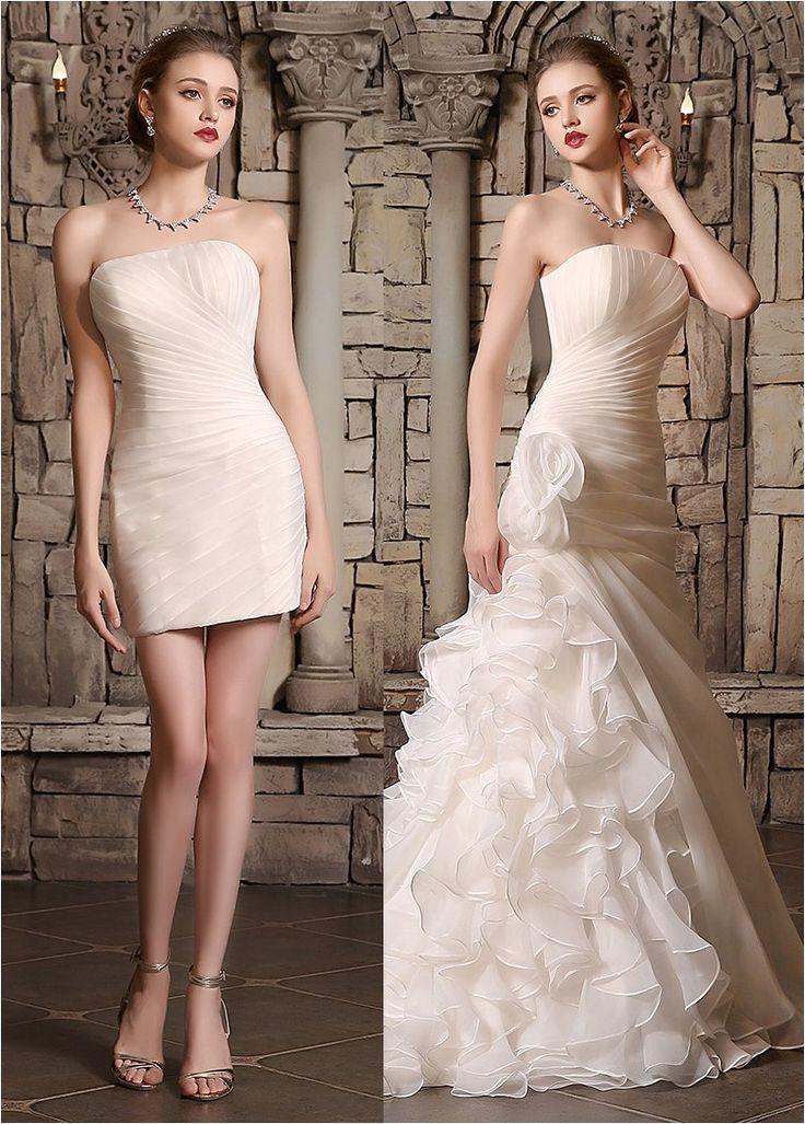Best 25 Convertible Wedding Dresses Ideas On Pinterest