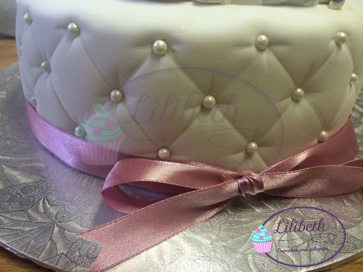 Quilted decorated cake