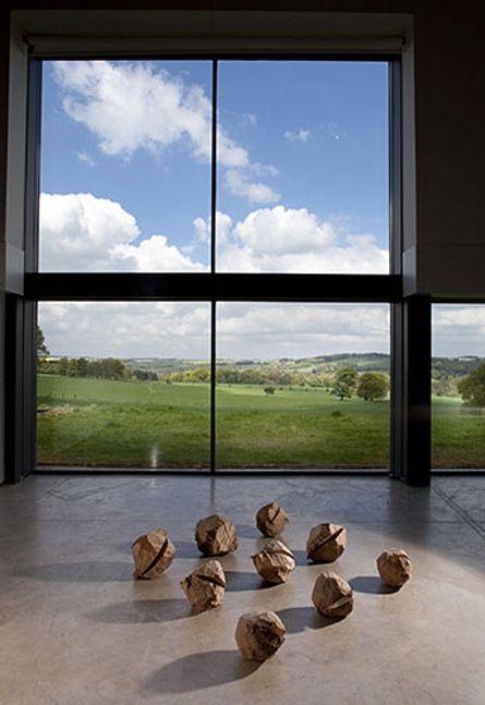 David Nash: David Nash #davidnash #sculpture #YSP #landscape #art #sculptor