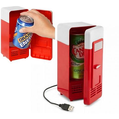 New Portable USB Powered Mini Fridge Cooler and Warmer