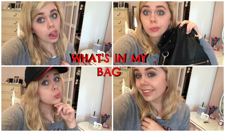 What's In My Bag: Work Edition | Charli Crescendo