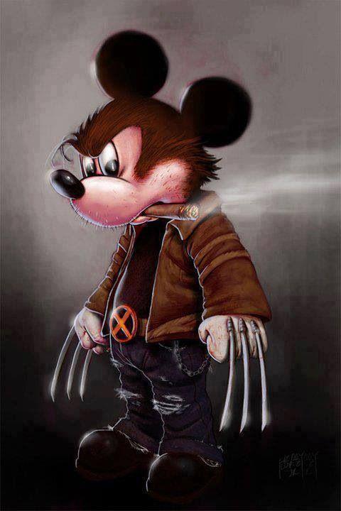 Wolverine Mickey