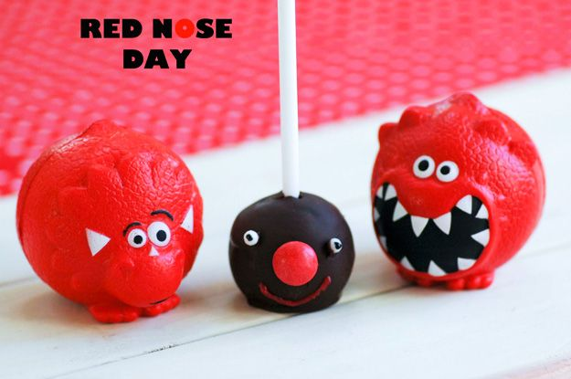 Cake Designs For Red Nose Day : 10+ ideas about Red Nose Day Cakes on Pinterest Red nose ...