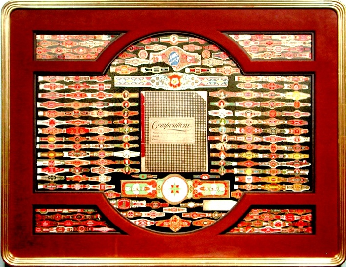 Bradley S Custom Framed Cigar Bands Collections