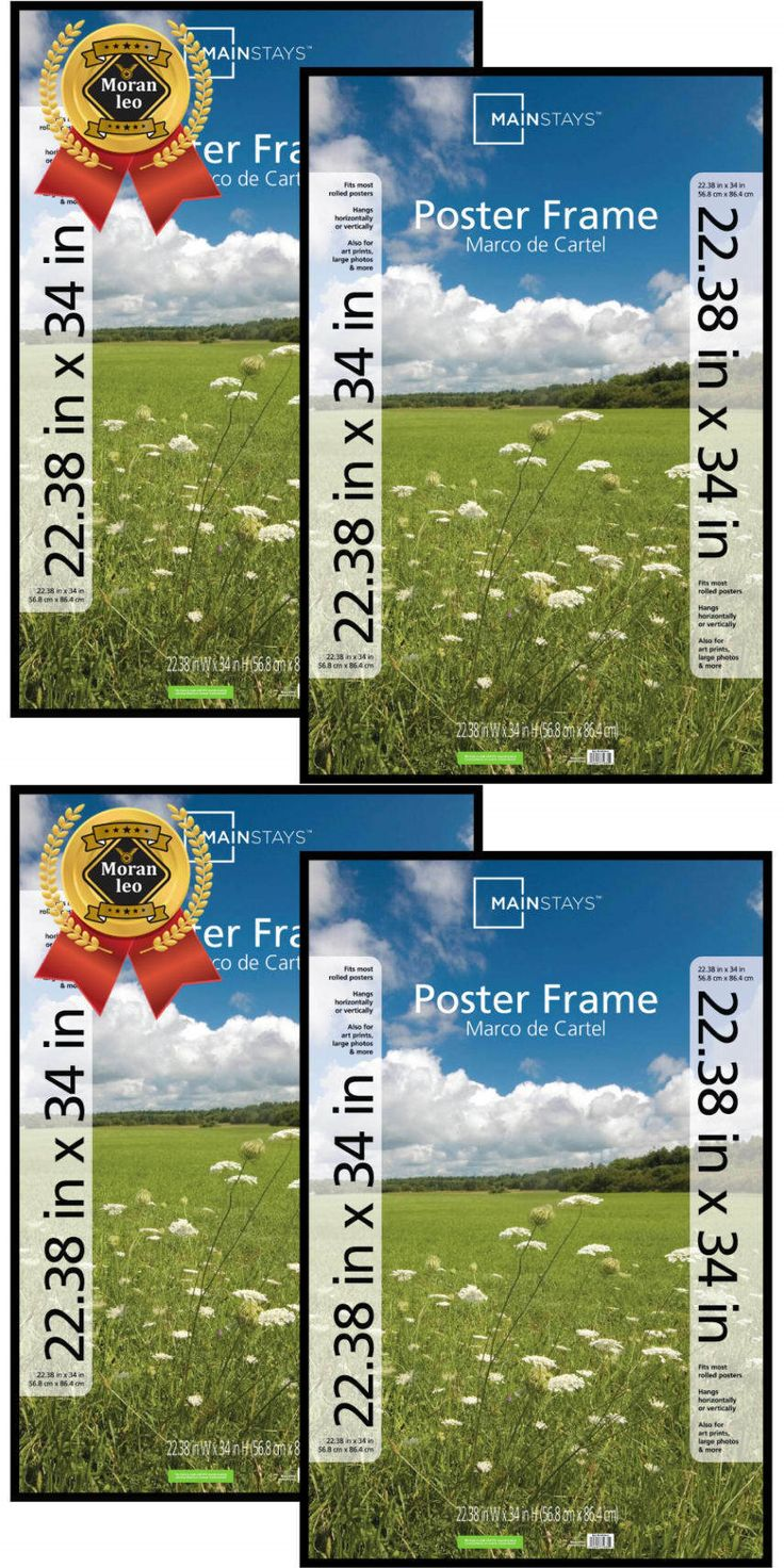 Frames 79654: Mainstays 22X34 Basic Poster Picture Frame, Black, Set Of 2 Decor And Home New -> BUY IT NOW ONLY: $31.92 on eBay!