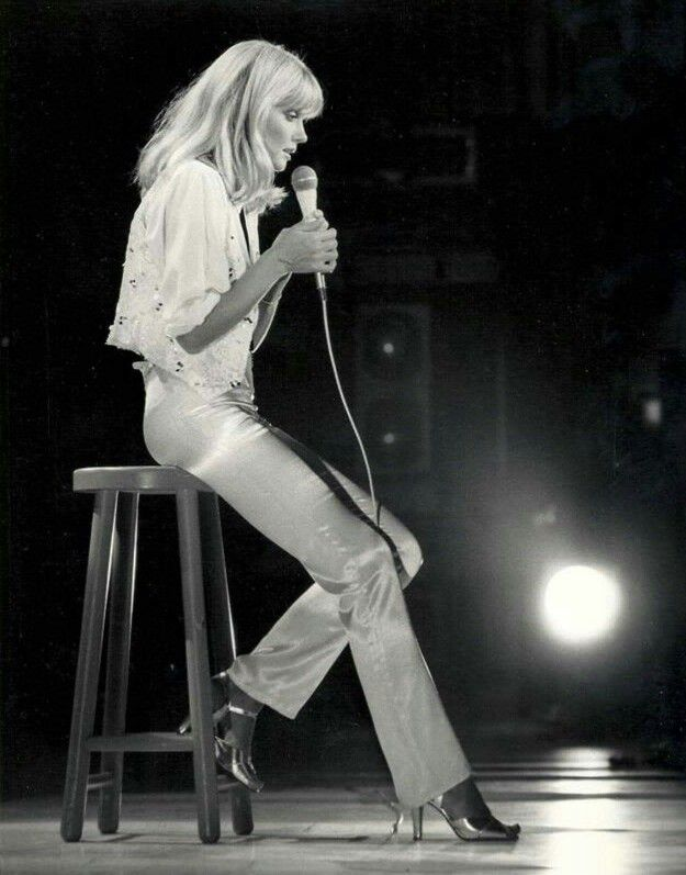 Olivia Newton-John - Australian soft rock singer who became a worldwide star in the seventies. Perhaps best remembered for her starring role in the film version of Grease.