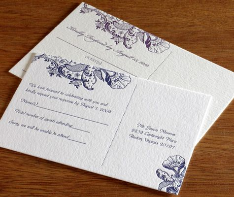 Luckily with all of the customization options available for wedding stationery printing, your invitations do not have to break the budget or leave a large carbon footprint!