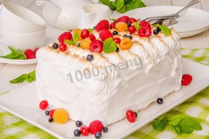 Торт мороженое Аляска