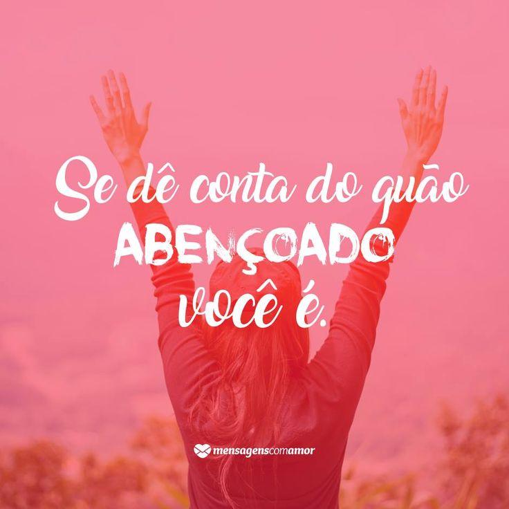 Seja grato(a).