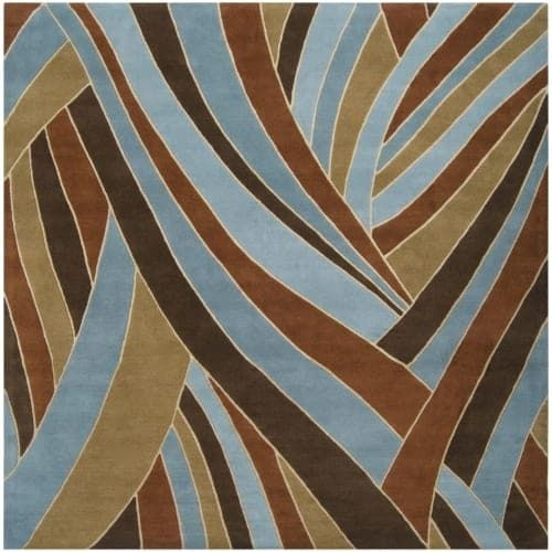 Surya FM7002-99SQ Forum 10' Square Wool Hand Tufted Contemporary Area Rug