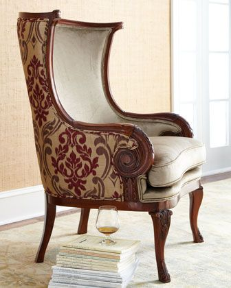 """""""Cambria"""" Chair by Massoud at Horchow."""