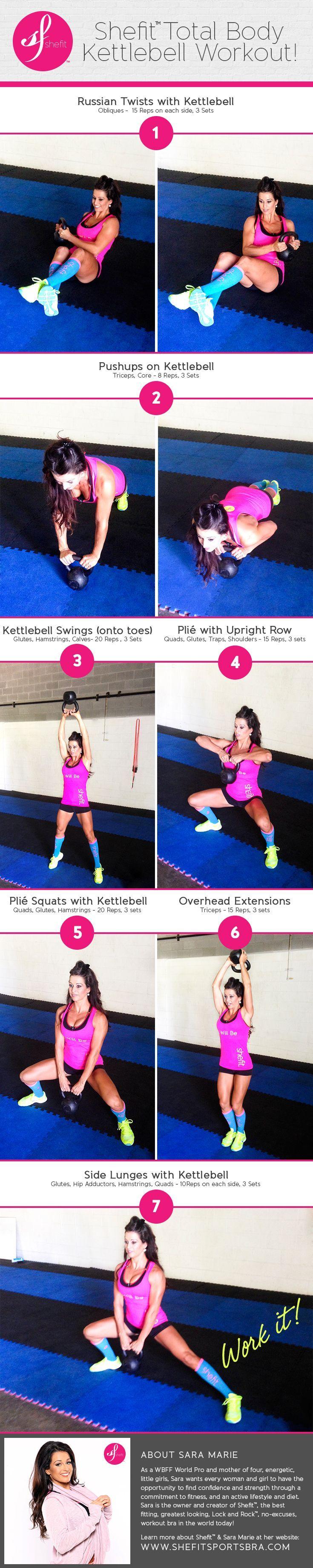 Shefit Total Body Kettlebell Workout