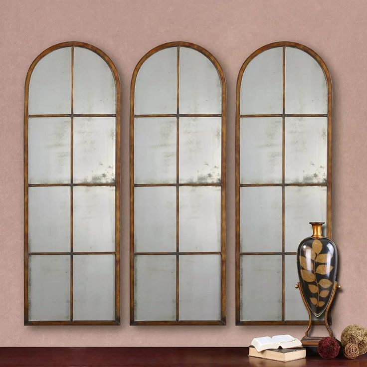 Accent Wall Sf 18: Nerissa Arched Accent Mirror In 2020