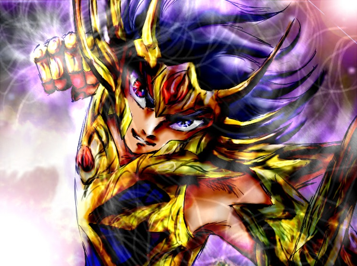 Saint Seiya - Gold Saint Cancer no Deathmask