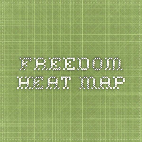 Economic Freedom Heat Map - Heritage.org